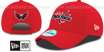Capitals 'THE-LEAGUE GAME STRAPBACK' Red Hat by New Era