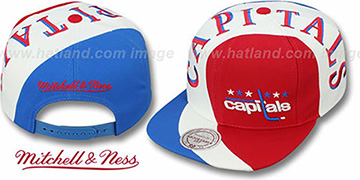 Capitals TWIRL SNAPBACK Hat by Mitchell & Ness