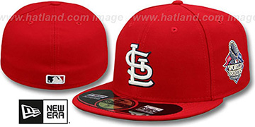 Cardinals '2013 WORLD SERIES' HOME Hat by New Era