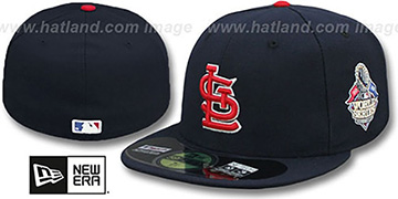 Cardinals '2013 WORLD SERIES' ROAD Hat by New Era