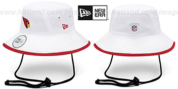 Cardinals '2014 NFL TRAINING BUCKET' White Hat by New Era
