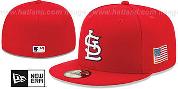 Cardinals 2015 STARS-N-STRIPES 911 GAME Hat by New Era