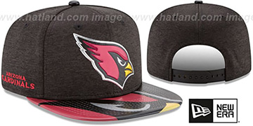 Cardinals 2017 NFL ONSTAGE SNAPBACK Hat by New Era