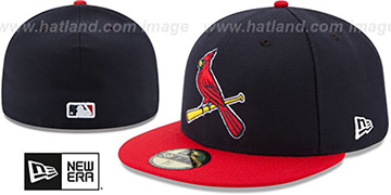 Cardinals AC-ONFIELD ALTERNATE-2 Hat by New Era