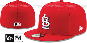 Cardinals AC-ONFIELD GAME Hat by New Era