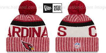 Cardinals 2017 STADIUM BEANIE Red Knit Hat by New Era