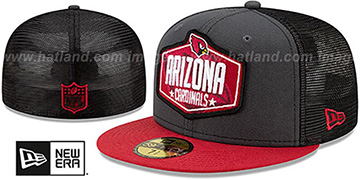 Cardinals '2021 NFL TRUCKER DRAFT' Fitted Hat by New Era