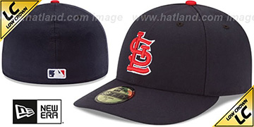 Cardinals LOW-CROWN ALTERNATE Fitted Hat by New Era
