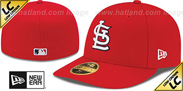 Cardinals '2017 LOW-CROWN ONFIELD GAME' Fitted Hat by New Era