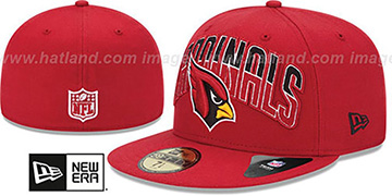 Cardinals NFL 2013 DRAFT Red 59FIFTY Fitted Hat by New Era