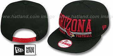 Cardinals 'NFL LATERAL SNAPBACK' Black Hat by New Era