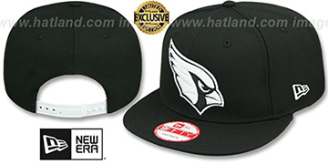 Cardinals 'TEAM-BASIC SNAPBACK' Black-White Hat by New Era