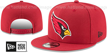 Cardinals TEAM-BASIC SNAPBACK Burgundy Hat by New Era