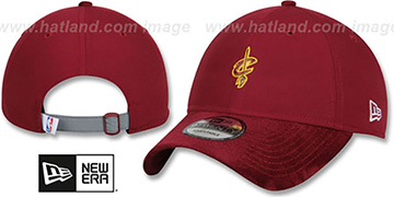 Cavaliers '2017 NBA ONCOURT DRAFT STRAPBACK' Burgundy Hat by New Era