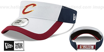 Cavaliers 'COLOR-BLOCK VISOR' by New Era
