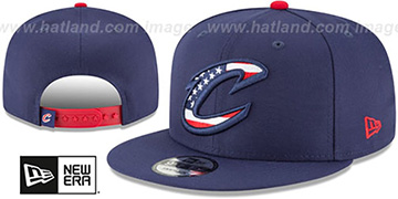 Cavaliers 'FLAG FILL INSIDER SNAPBACK' Navy Hat by New Era