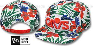 Cavaliers 'HWC TROPTRIP BLOOM SNAPBACK' Hat by New Era