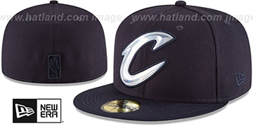 Cavaliers 'IRIDESCENT HOLOGRAM' Navy Fitted Hat by New Era