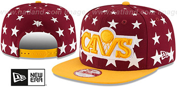 Cavaliers 'NBA ALL-STARRY SNAPBACK' Hat by New Era