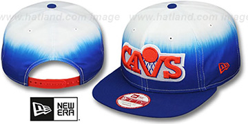 Cavaliers 'SUBLENDER SNAPBACK' Royal-White Hat by New Era