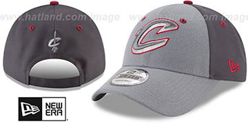 Cavaliers THE-LEAGUE GREY-POP STRAPBACK Hat by New Era