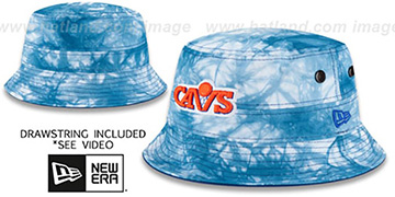 Cavaliers TYE-DYE ZONE Bucket Hat by New Era