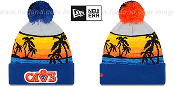 Cavaliers 'WINTER BEACHIN' Knit Beanie Hat by New Era