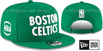 Celtics 20-21 'CITY-SERIES' ALTERNATE SNAPBACK Green Hat by New Era