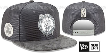 Celtics '2017 NBA ONCOURT SNAPBACK' Charcoal Hat by New Era