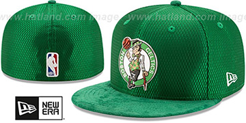 Celtics '2017 ONCOURT DRAFT' Green Fitted Hat by New Era