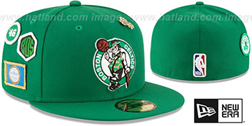 Celtics '2018 NBA DRAFT' Green Fitted Hat by New Era