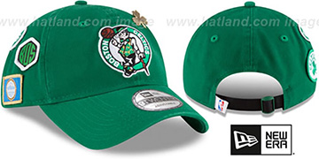 Celtics 2018 NBA DRAFT STRAPBACK Green Hat by New Era