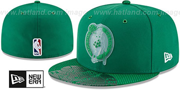 Celtics 2018 NBA ONCOURT ALL-STAR Green Fitted Hat by New Era