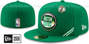 Celtics 2019 NBA DRAFT Green Fitted Hat by New Era
