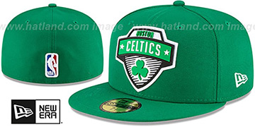 Celtics '2020 NBA TIP OFF' Green Fitted Hat by New Era