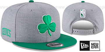 Celtics 'CITY-SERIES SNAPBACK' Grey-Green Hat by New Era