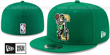 Celtics DECEPTORED Green Fitted Hat by New Era