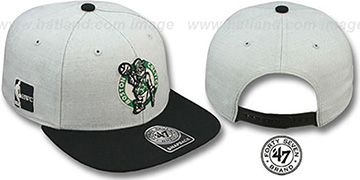Celtics HWC 'SATCHEL SNAPBACK' Adjustable Hat by Twins 47 Brand