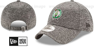 Celtics 'MICRO-TEAM STRAPBACK' Grey Hat by New Era