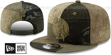 Celtics PATCHWORK PREMIUM SNAPBACK Hat by New Era