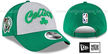 Celtics ROPE STITCH DRAFT STRETCH SNAPBACK Grey-Green Hat by New Era