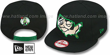 Celtics 'TEAM-INSIDER SNAPBACK' Black Hat by New Era