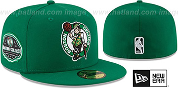 Celtics TEAM-SUPERB Green Fitted Hat by New Era