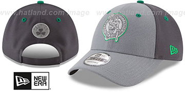 Celtics THE-LEAGUE GREY-POP STRAPBACK Hat by New Era