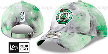 Celtics TIE-DYE STRAPBACK Hat by New Era