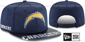 Chargers 2017 NFL ONSTAGE SNAPBACK Hat by New Era