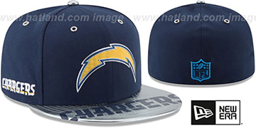 Chargers 2017 SPOTLIGHT Fitted Hat by New Era