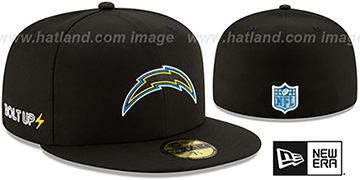 Chargers 2020 NFL VIRTUAL DRAFT Black Fitted Hat by New Era