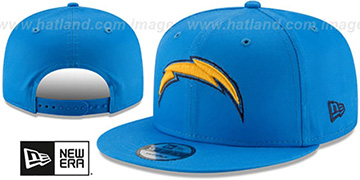 Chargers TEAM-BASIC SNAPBACK Blue Hat by New Era