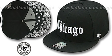 Chicago 'GOTHIC PAISLEY SNAPBACK' Adjustable Hat by Twins 47 Brand